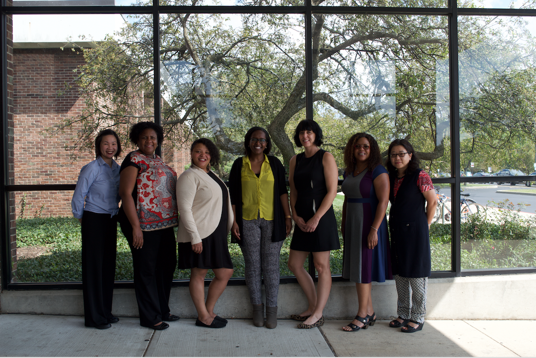 WWP Advisory Board Meeting September 2018   - From left to right: Joyce Main, Monica F Cox, Monica Ridgeway, Meseret Hailu, Julie Aldridge, Ebony McGee, So Yoon Yoon